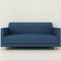 择木宜居 沙发 小户型布艺沙发 简约现代沙发 客厅沙发 实木三人沙发