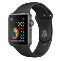 [当当自营] Apple Watch Sport Series 1智能手表(38毫米深空灰色铝金属表壳搭配黑色运动型表带 MP022CH/A)