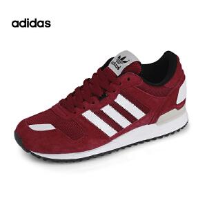 Adidas/阿迪达斯三叶草运动跑步鞋ZX 红色三叶草复古休闲B24840