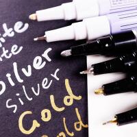 油漆笔 SC油漆笔 EF/F/M/B四款笔尖金银白三色可选 好用金属笔 高光笔