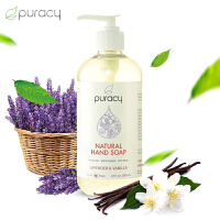 Puracy美国进口家用洗手液宝宝儿童杀菌抑菌家用保湿消毒液清香型