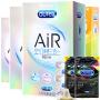 【杜蕾斯官方旗舰店】超薄 避孕套 男用安全套 AiR空气快感三合一 16只成人情趣 计生用品
