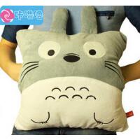 咔噜噜 龙猫暖手 创意午睡枕 毛绒玩具   情人节礼物