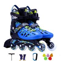 COUGAR美洲狮溜冰鞋成人男女可调轮滑鞋青少年直排旱冰鞋滑冰鞋