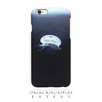 iPhone6splus/6s手机壳  艺术原创   海洋水母   购买请注明手机型号
