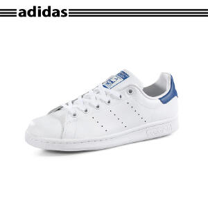 正品代购ADIDAS阿迪达斯STAN SMITH J史密斯经典男女小白鞋S74778