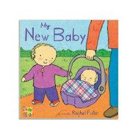 华研原版 My New Baby 英文原版 儿童英语读物书籍 英语绘本 进口正版