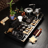 尚帝 紫砂茶具套装 茶具茶盘套装 陶瓷功夫茶具 整套茶具JHSZBJ4K-4