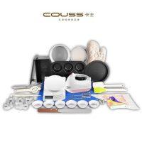 卡士COUSS CG-900家用烘焙套餐 打蛋器 电子秤蛋糕模 电烤箱配件