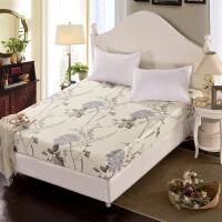 福存家居 全棉斜纹床笠单件床罩床垫套保护罩1.2米1.5米1.8米床
