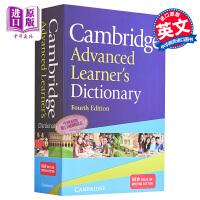 剑桥高阶英语字典词典4版 正版 英文原版Cambridge Advanced Learner's Dictionary雅思考试必备