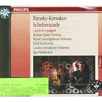 进口CD:里姆斯基-科萨科夫:《天方夜潭》,《西班牙狂想曲》,《俄罗斯复活节序曲》企鹅评鉴三星/442 643-2