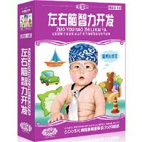 左右脑智力开发全集 10DVD 儿童早教光盘 动画