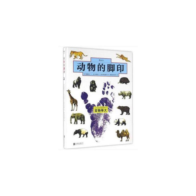 动物的脚印 畅销书籍 童书 少儿科普 正版