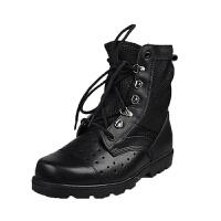 军靴男特种兵作战靴美国军户外沙漠靴夏季凉皮靴子男户外休闲军迷战术靴登山靴防滑靴