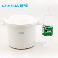 茶花微波保温饭煲 2703双层塑料微波炉加热器皿饭盒煮饭煲锅蒸米饭饭盒蒸笼用品