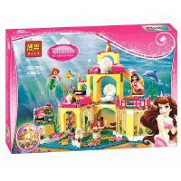 乐高式41060迪士尼公主系列睡美人的皇家卧室博乐拼装积木女孩玩具10433  10434 10435 乐高式L41063迪斯尼公主博乐10436美人鱼的海底宫殿女孩积木玩具