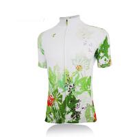 2015夏季速干透气短袖骑行服 防风单车服 舒适赛车服 女士自行车服