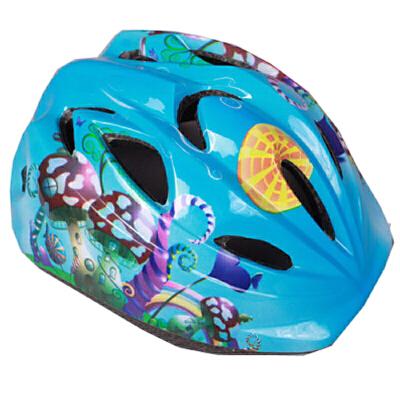 自行车头盔 儿童骑行头盔安全帽护具 可爱多色骑行护具户外运动用品