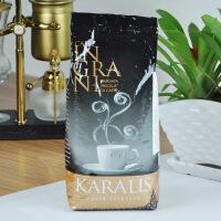 KARALIS/卡拉莉斯意大利原装进口咖啡豆 意式特浓咖啡粉1KG 金标