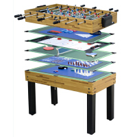 多功能游戏桌 乒乓球桌 桌上足球台桌上冰球 象棋手游