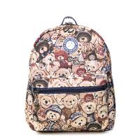 大咖熊  2色精选 小熊图案包邮休闲女包女式韩版背包书包潮