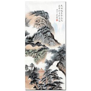 吴湖帆【夜雨】HZ3965