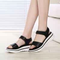 GEMEIQ/戈美其夏季新款浅口露趾鞋休闲低帮中低跟女鞋女凉鞋
