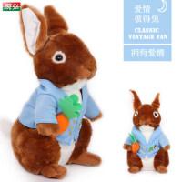 胜女兔 彼得兔毛绒玩具公仔 车载兔子玩偶布娃娃 生日礼物女生