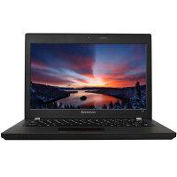 联想(Lenovo)昭阳K20-80 12.5英寸笔记本电脑 i7-5500U 4G 1T 无光驱 3+3芯电池  Win7黑色