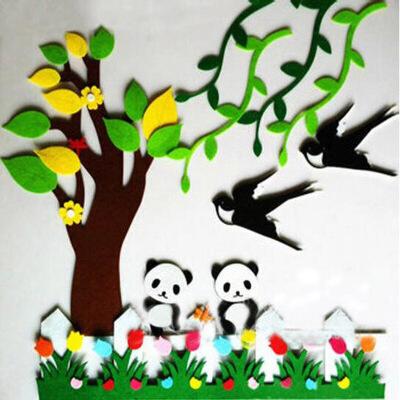 幼儿园春天墙面装饰