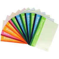 【满99-30满199-80】得力笔记本软面抄7650 彩色会议笔记本/记事本/日记本子办公用品