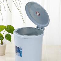 茶花垃圾桶 塑料桶 废纸桶 菜剩桶 厨房垃圾桶 脚踏卫生桶1501(颜色随机)