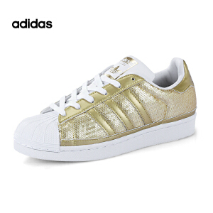 Adidas/阿迪达斯Superstar Sport Metallics经典贝壳头运动休闲板鞋 S83383
