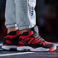 鸿星尔克童鞋春秋新款儿童篮球鞋男童运动鞋气垫鞋高帮球鞋中大童
