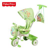 【当当自营】费雪FisherPrice三轮车童车宝宝脚踏车婴儿手推车小孩玩具车脚踏可拆卸玩具903 绿色