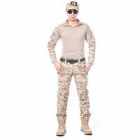 火凤凰蛙服特种兵迷彩服套装男女外套军迷户外CS野战作训服黑色蛙服