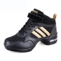 雷博现代广场舞蹈鞋女爵士体操舞女单鞋内增高软底现代街跳舞鞋