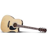 Season思雅晨41寸民谣吉他套装ST-41NC(配包、拨片、背带、指甲磨、调节扳手、备用弦、电子调音器、入门教材)