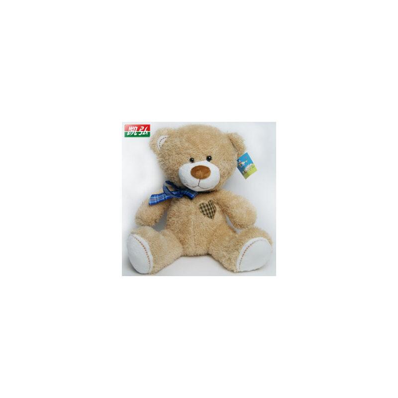 毛绒玩具泰迪熊 萌可爱熊公仔大号 抱抱熊布娃娃 女生生日礼物_浅棕