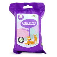 英国品牌小树苗 柔润全护婴儿抗敏柔湿巾25片