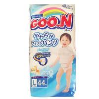 【当当海外购】 大王GOO.N拉拉裤(男)  新生婴幼儿贴身洗护纸尿裤 L44大码(9-14kg)44片