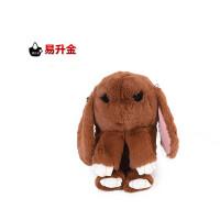 WY 2016秋冬新款兔子包可爱装死兔链条单肩女包包韩版毛绒斜挎包