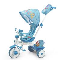 【当当自营】费雪FisherPrice三轮车童车宝宝脚踏车婴儿手推车小孩玩具车脚踏可拆卸玩具903 蓝色