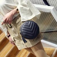 新款个性迷你小圆包韩版时尚女包单肩包百搭潮流小包包斜挎包