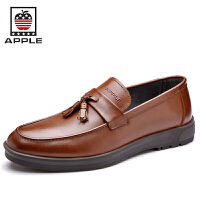 Apple苹果 男士商务休闲鞋英伦时尚皮鞋潮流男鞋5208049