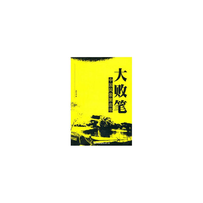 大败笔:中国风景黑皮书 9787505721517