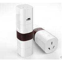 包邮 公牛转换器GN-L07U多国旅行转换插头转换插座带USB