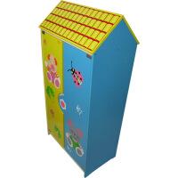 【当当自营】婴之王 老鼠图案衣柜 多彩衣柜 收纳宝宝衣物柜子