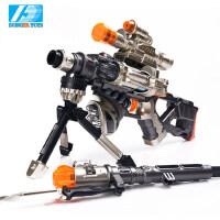 东发雪豹狙击枪 电动玩具枪 男孩儿童玩具枪声光手枪狙击枪机关枪